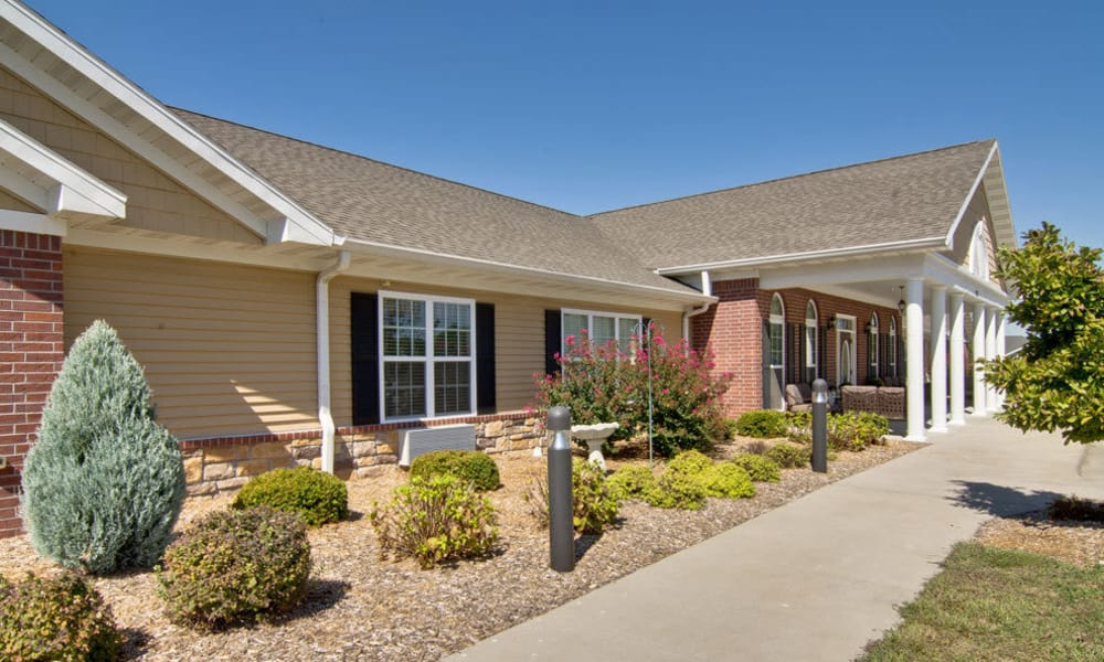 Independent Living cottages at Foxberry Terrace Senior Living community in Webb City, Missouri