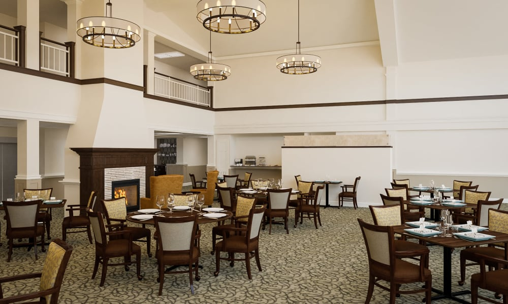 Dining at The Commons at Dallas Ranch in Antioch, California