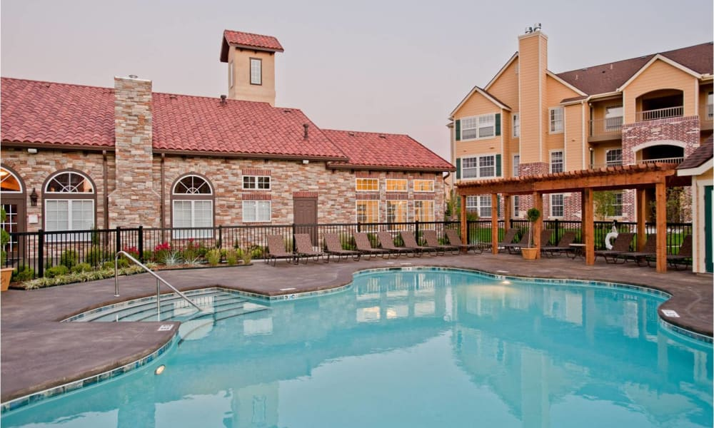 Pool at Tuscany Place in Lubbock, Texas