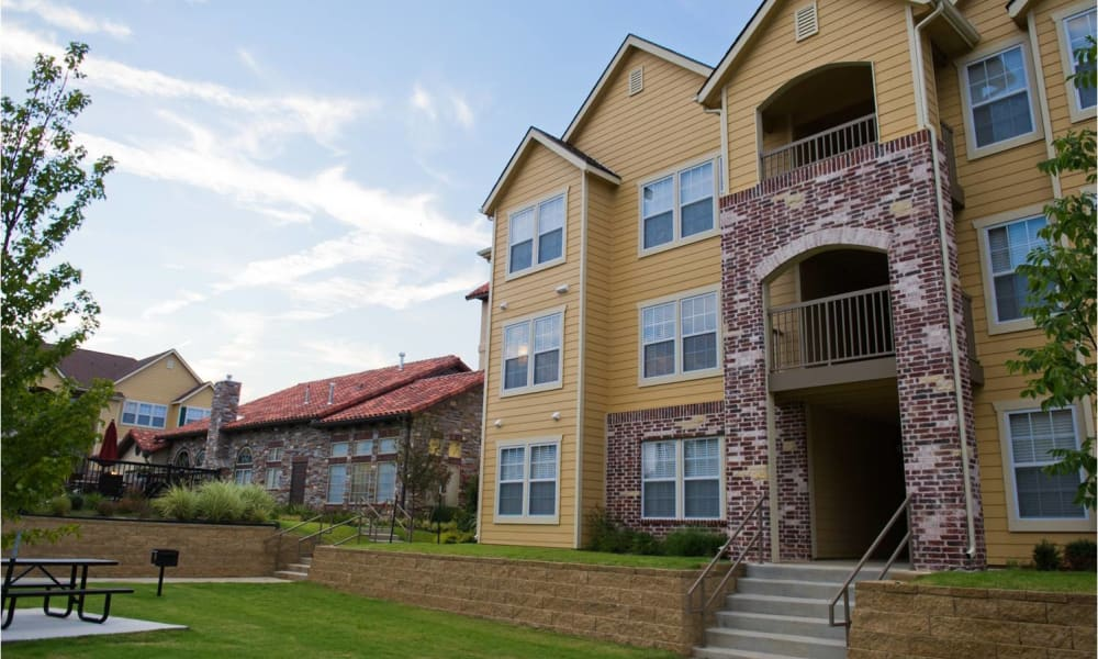 Building exterior at Tuscany Place in Lubbock, Texas