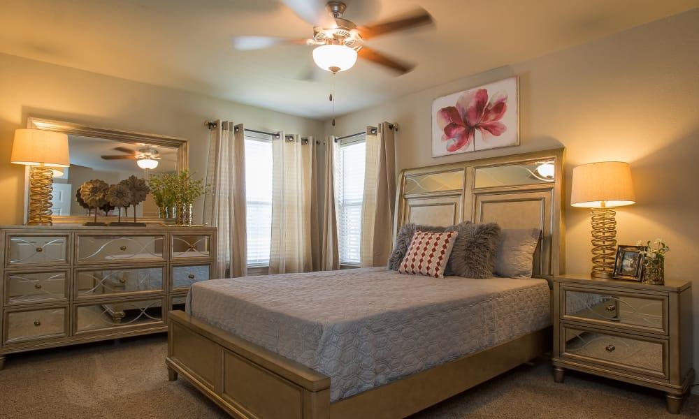Bedroom at Tuscany Ranch in Waco, Texas