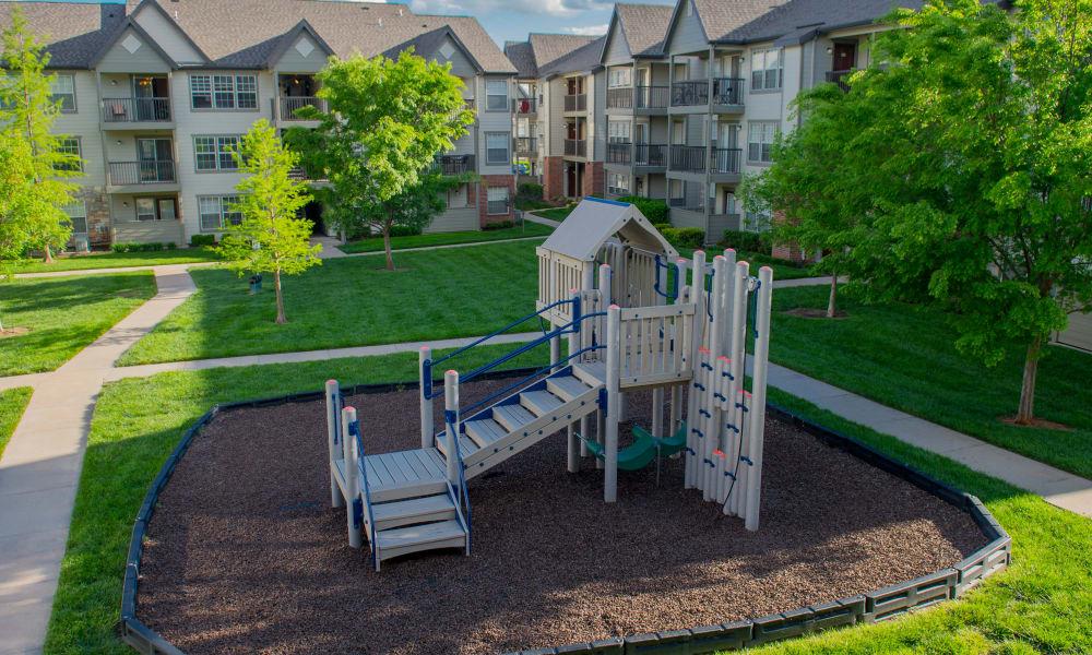 Villas of Waterford Apartments's playground in Wichita, Kansas