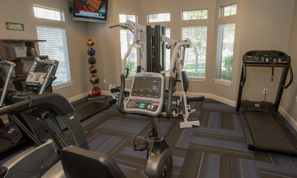 Villas of Waterford Apartments' fitness center in Wichita, Kansas