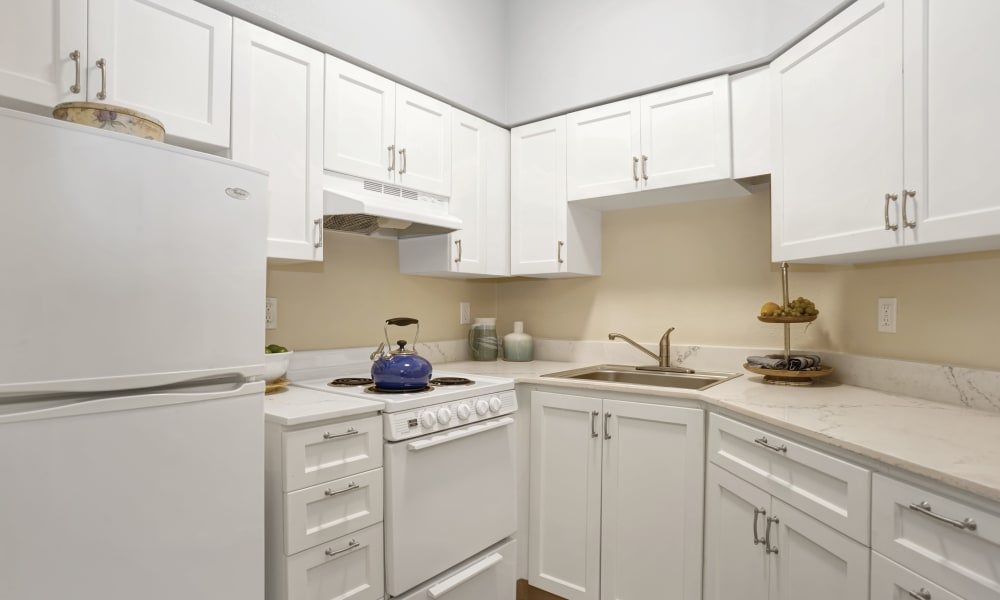 kitchen at Island House Assisted Living in Mercer Island, Washington