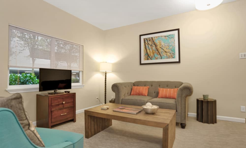 Interior of room at Island House Assisted Living in Mercer Island, Washington