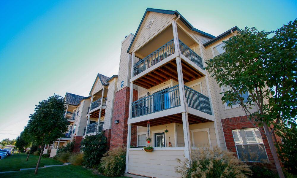 Exterior of Winchester Apartments in Amarillo, Texas
