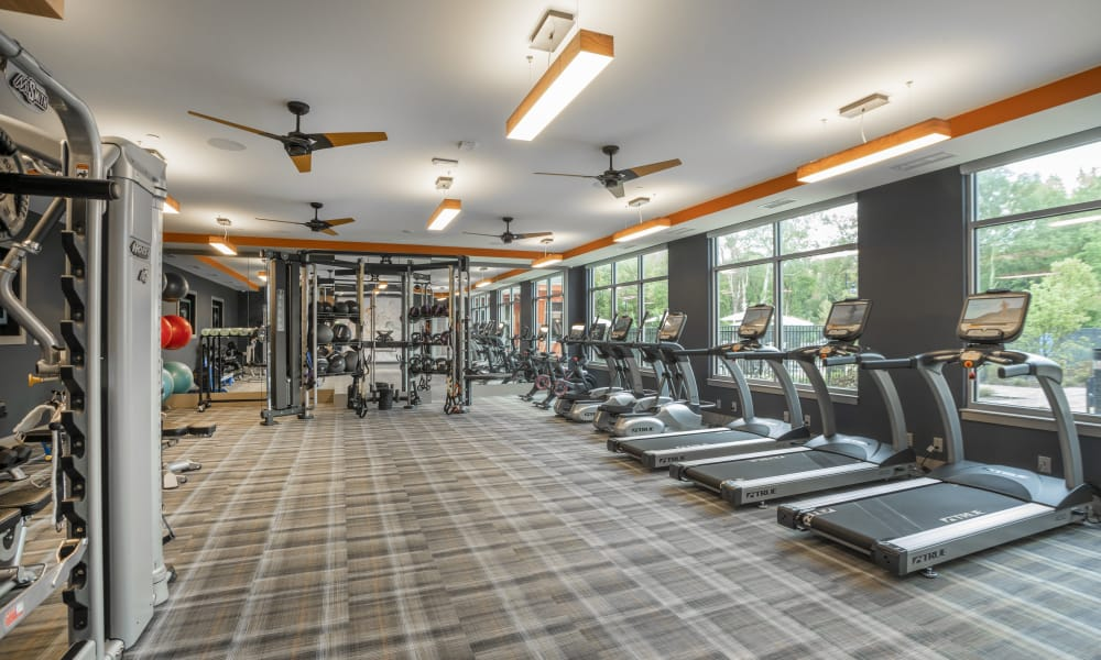 Enjoy apartments with a modern fitness center at Alta Easterly
