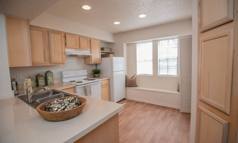 A large open kitchen at The Trace of Ridgeland in Ridgeland, MS