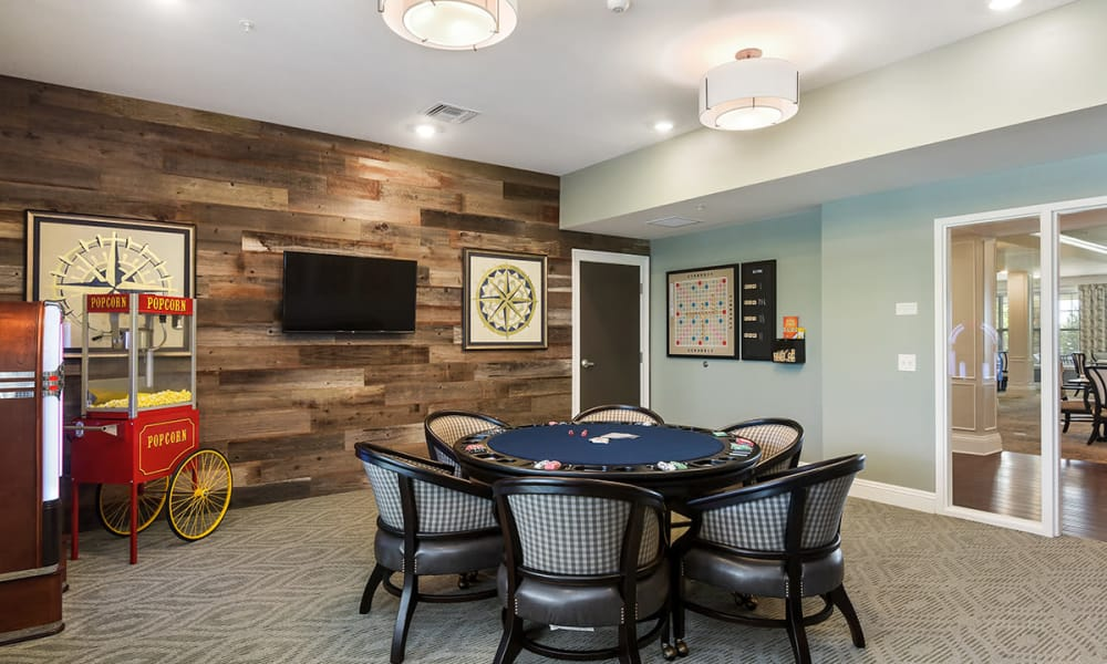 Activity Room at Stonecrest of Rochester Hills