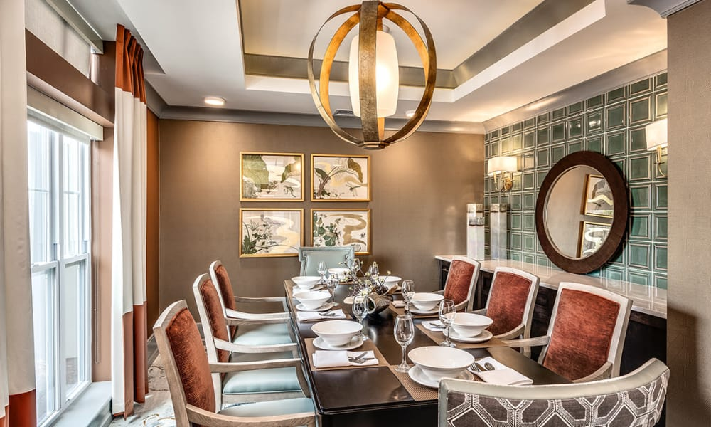 Private Dining at Stonecrest of Wildwood in Wildwood