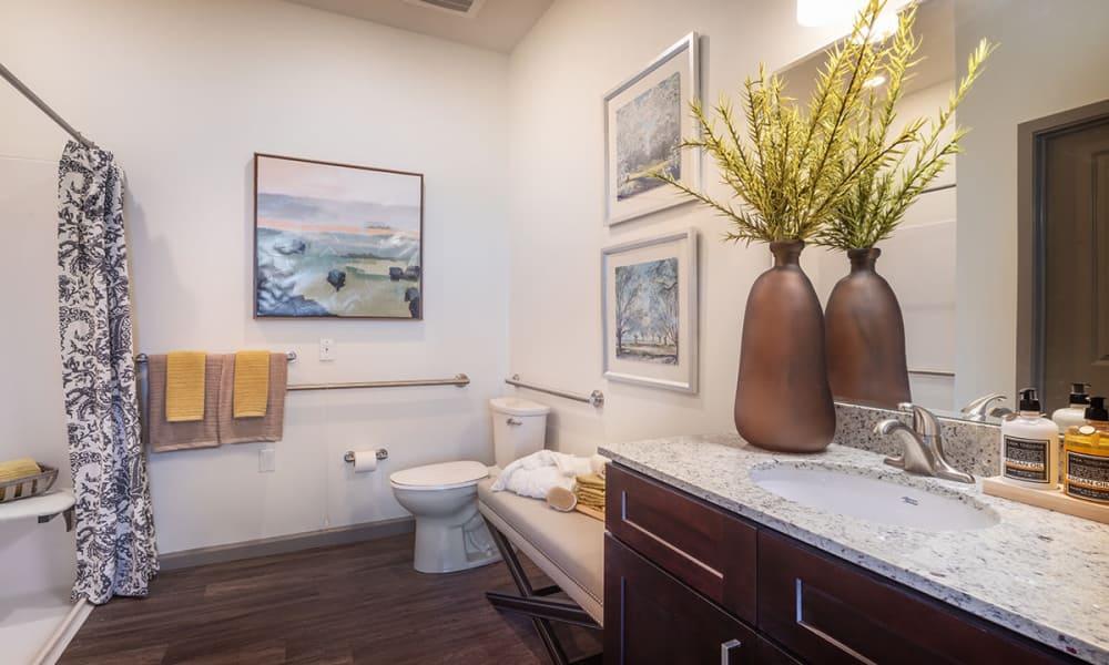 Spacious Bathroom at Stonecrest of Wildwood in Wildwood