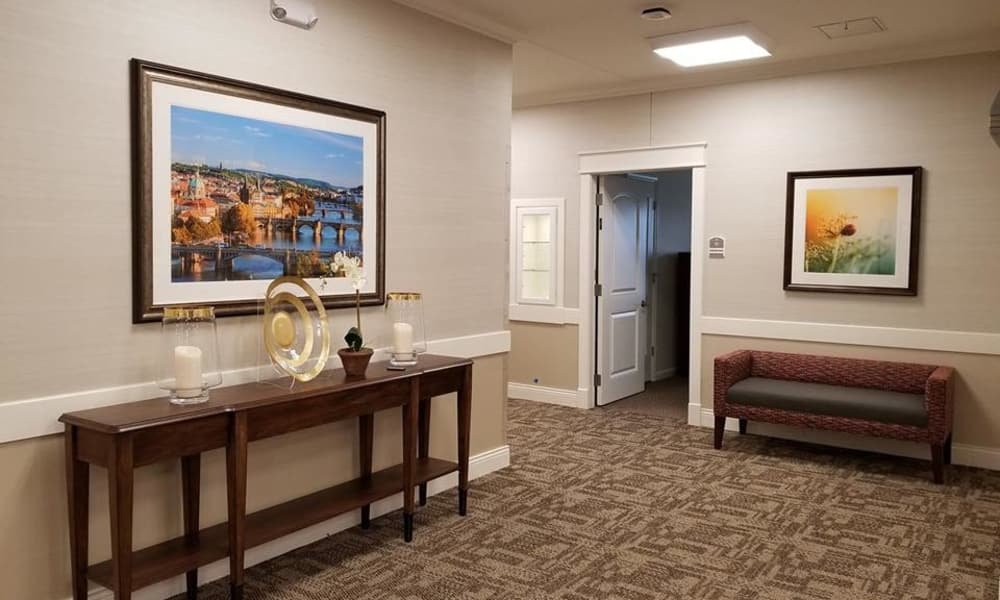 Living space at The Arbors at Harmony Gardens in Warrensburg, Missouri