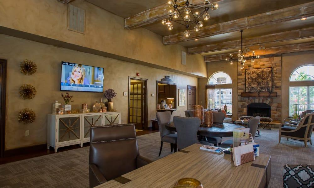 Coffee Creek Apartments' clubhouse in Owasso, Oklahoma