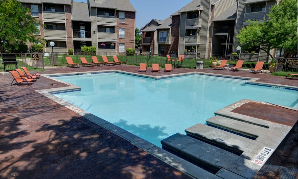 Newport Apartments offers a swimming pool in Amarillo, Texas