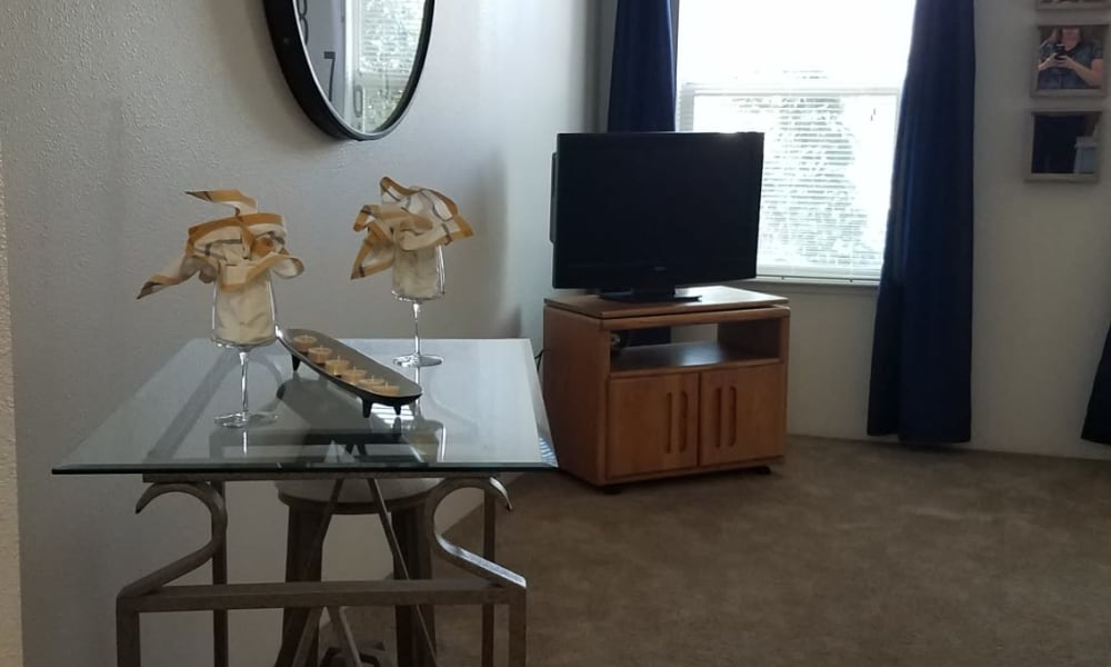 Living room at City Center Apartments in Reno, Nevada