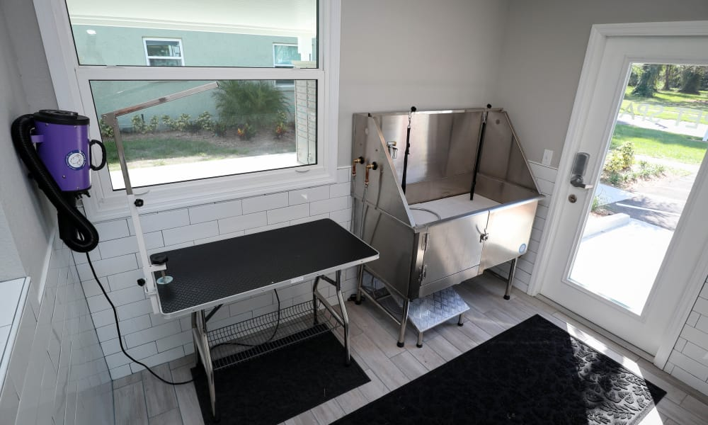 Pet Spa at Ridgeview Apartments in Seminole, Florida