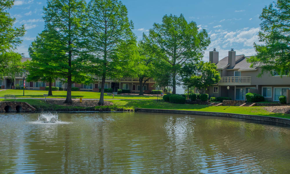 Pond at Sheridan Pond in Tulsa, Oklahoma