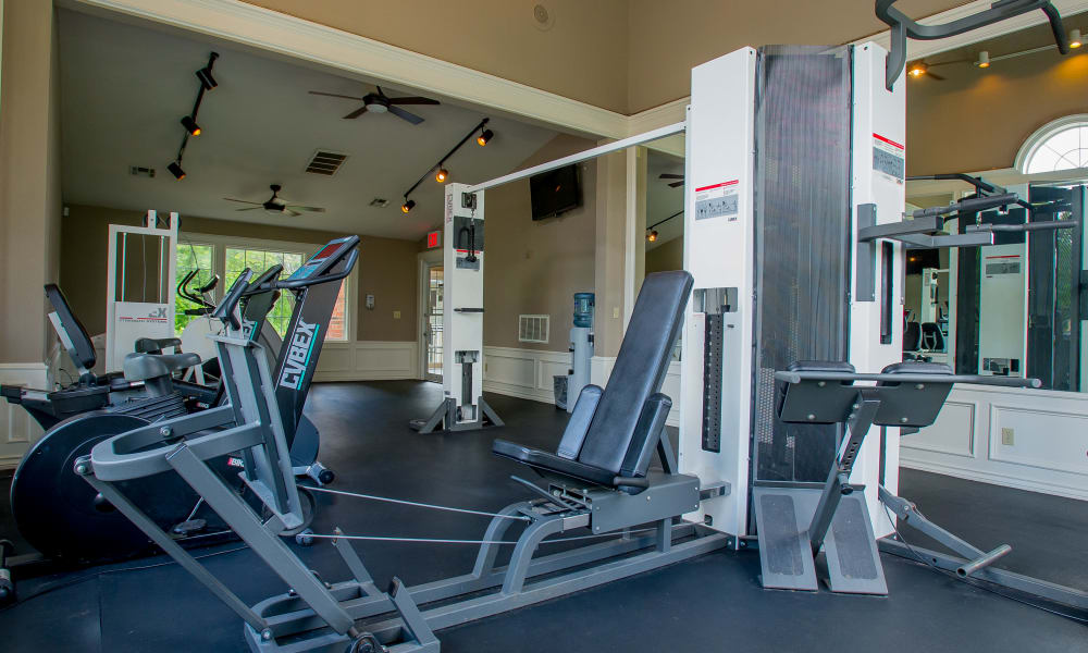 Summerfield Place Apartments offers a fitness center in Oklahoma City, Oklahoma