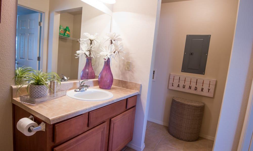 Bathroom at Villas at Aspen Park in Broken Arrow, Oklahoma