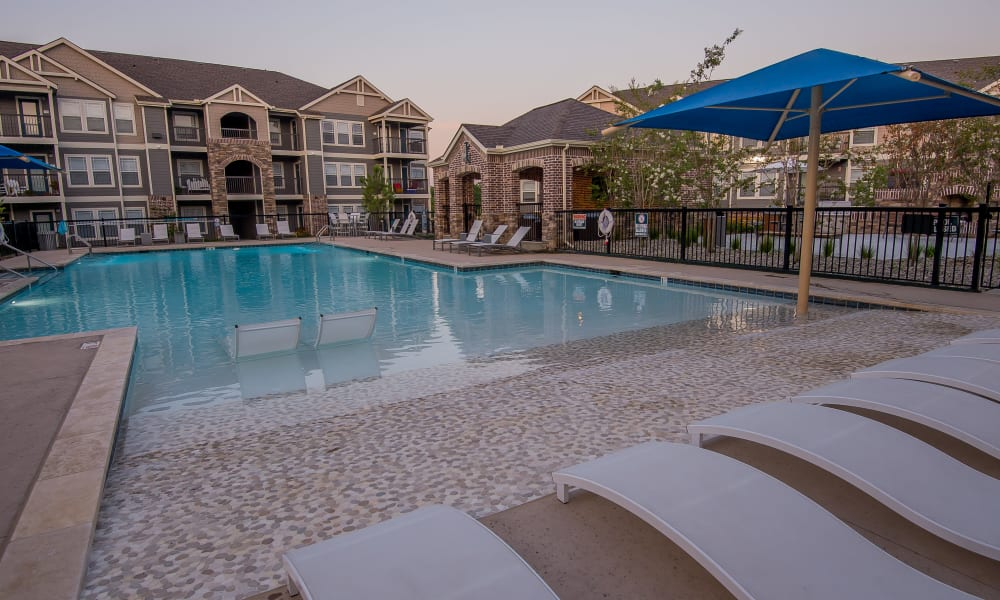 Cottages at Crestview offers a resort-style pool in Wichita, Kansas