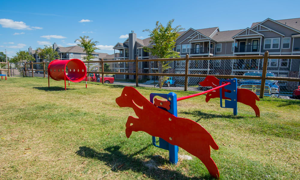 Cottages at Crestview offers a dog park in Wichita, Kansas