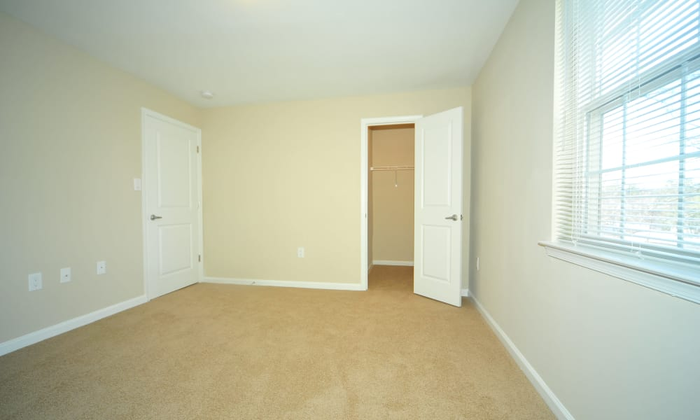 Spacious bedroom at Washington Square in Gaithersburg, Maryland