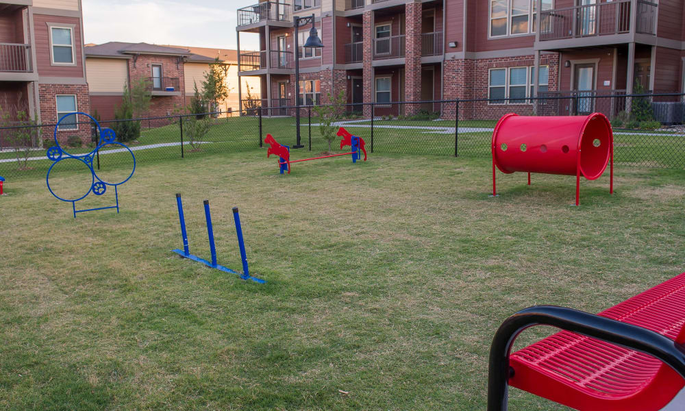 Dog park at The Icon at Lubbock in Lubbock