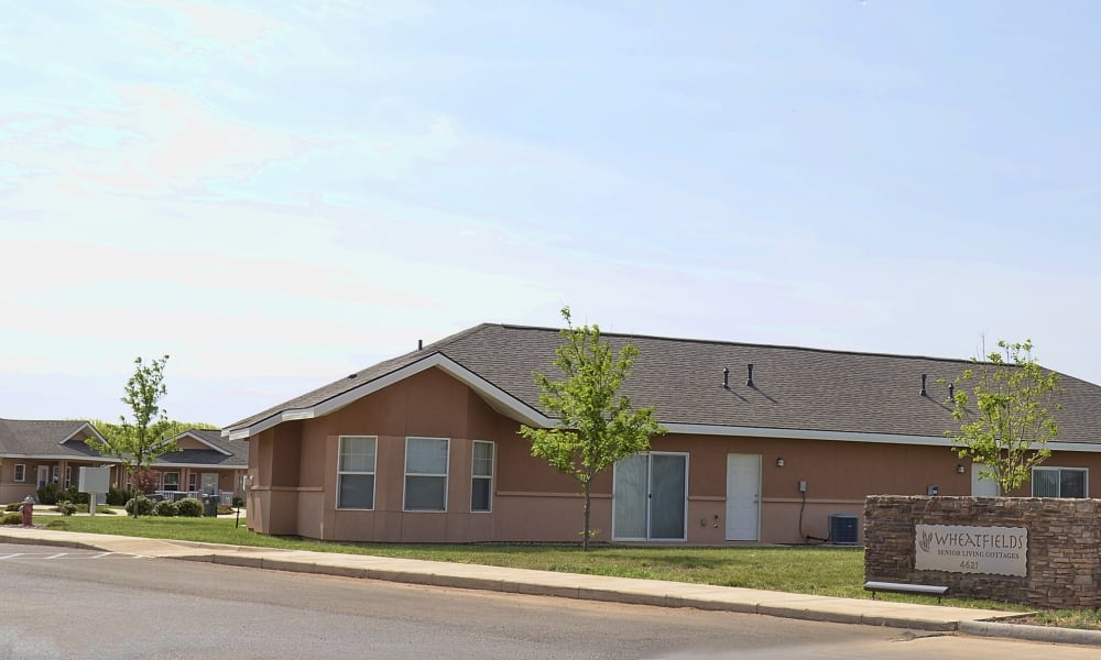 The cottages at Wheatfields Senior Living Community in Clovis, New Mexico