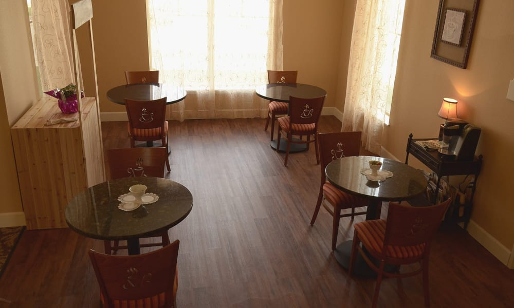 Living space at Wheatfields Senior Living Community in Clovis, New Mexico