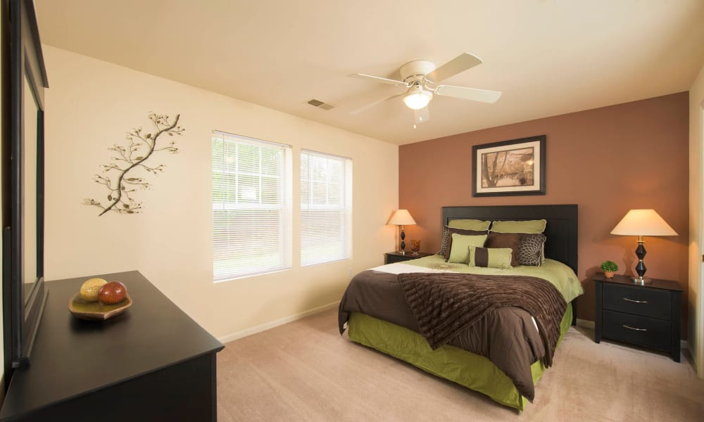 Bedroom at  in Lexington Park, Maryland
