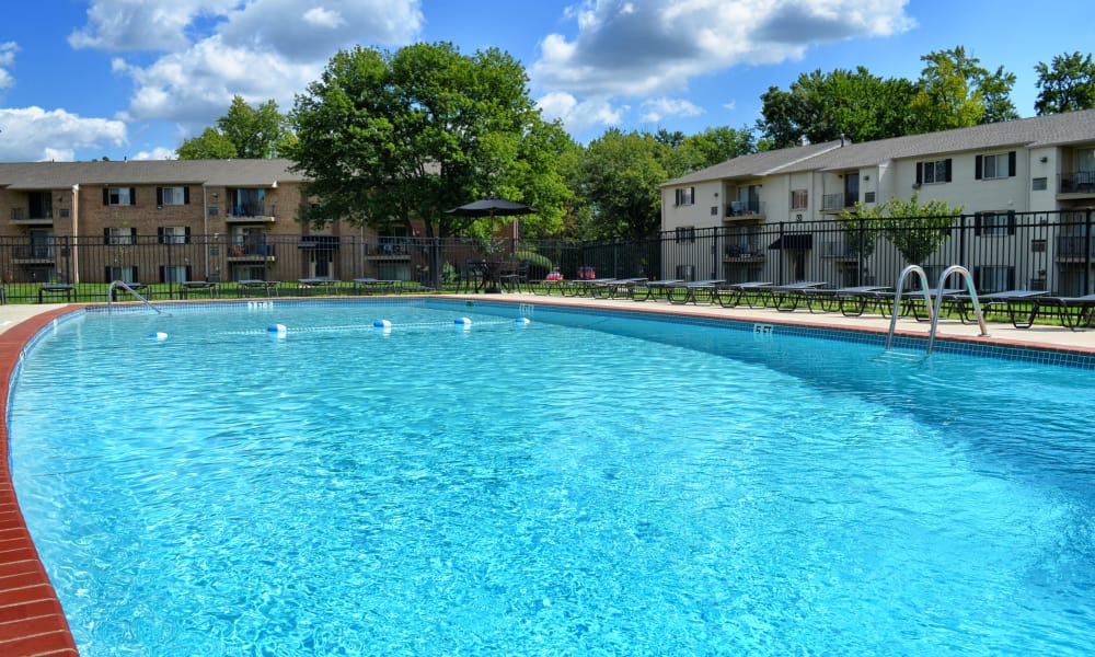 Our beautiful apartments in Levittown, Pennsylvania showcase a swimming pool