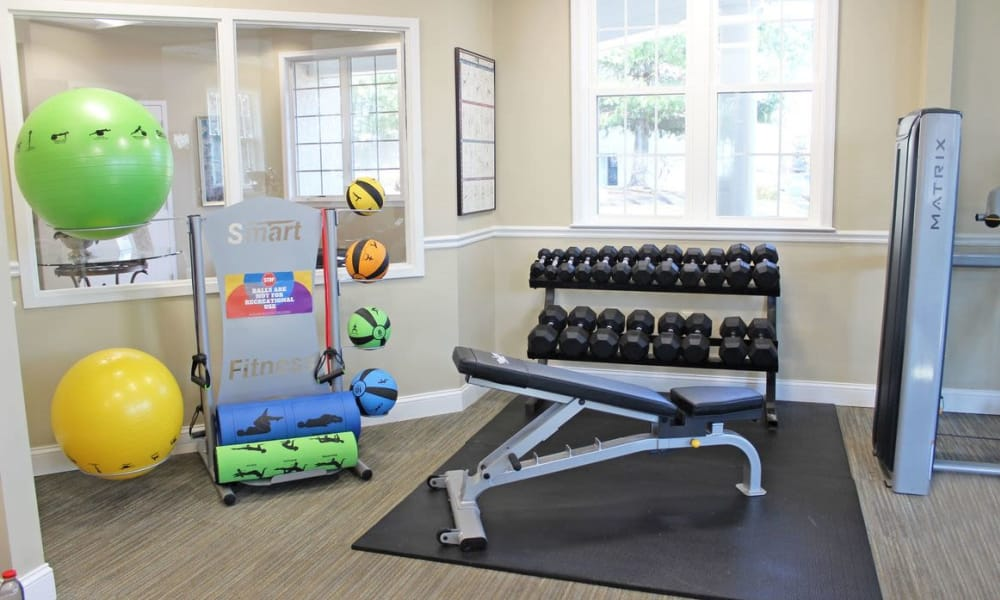 Our beautiful apartments in Levittown, Pennsylvania showcase a fitness center