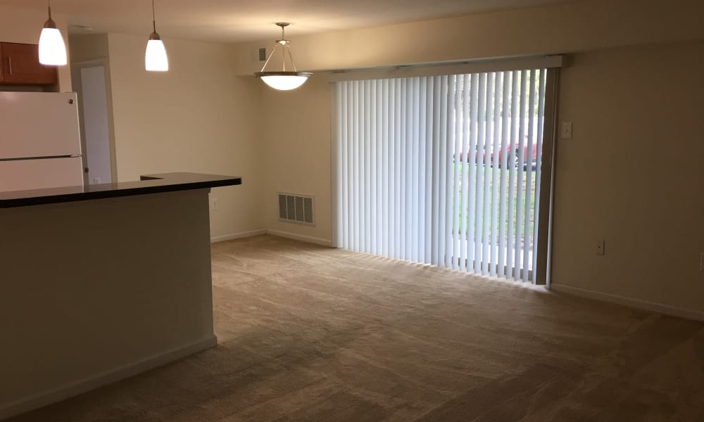 Chesterfield Apartment Homes offers a modern living room in Levittown, Pennsylvania