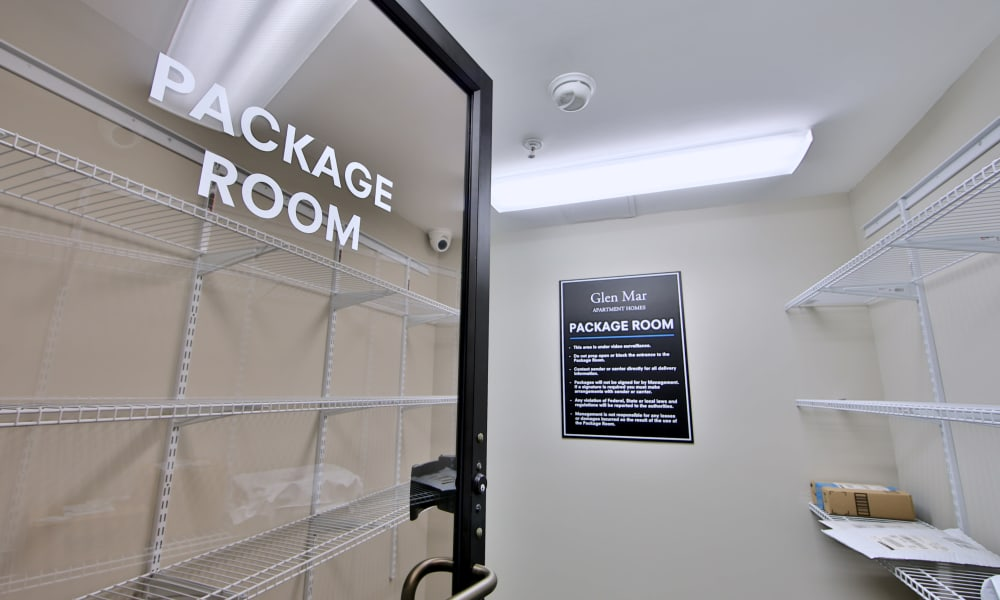 Our Apartments in Glen Burnie, Maryland have a Package Room