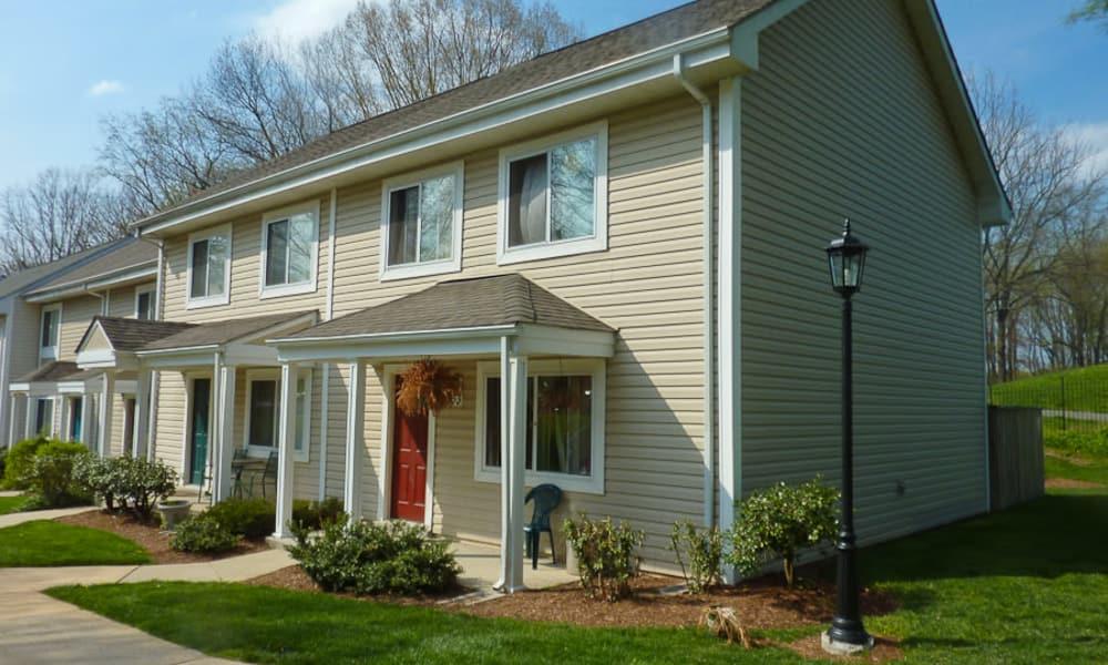 Exterior view at Stewartown Homes in Gaithersburg, Maryland