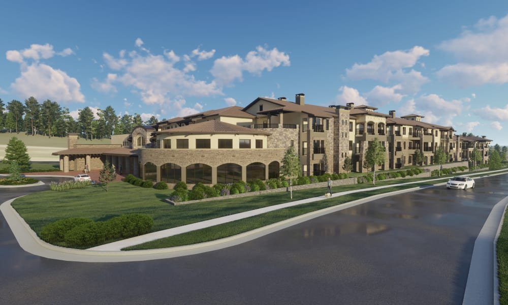 Artist rendering of Overland Property Group in Leawood, KS
