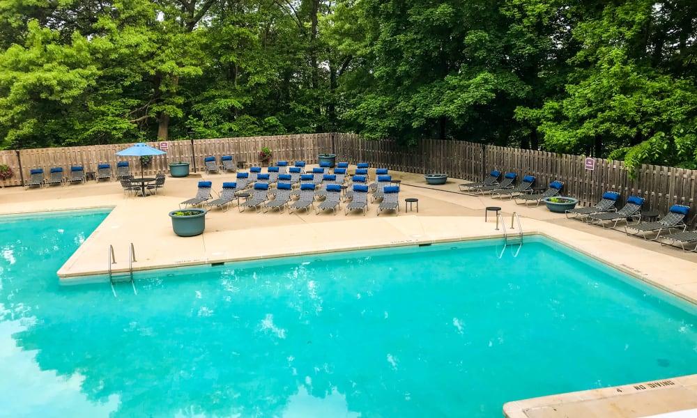 Pool at Windsor on the River in Cedar Rapids, Iowa