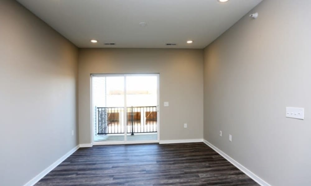 Living room at Johnston Gardens in Johnston, Iowa