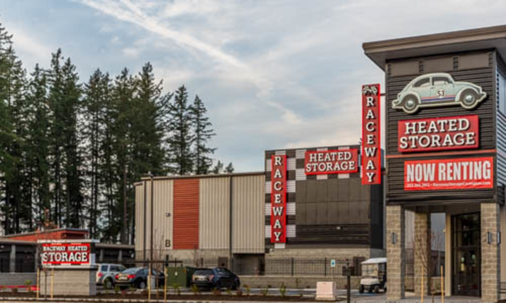 Raceway Heated Storage - Covington in Covington, Washington building exterior
