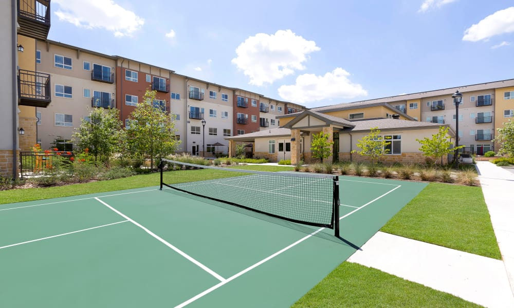 Pickleball court at Affinity at Lacey in Lacey, Washington