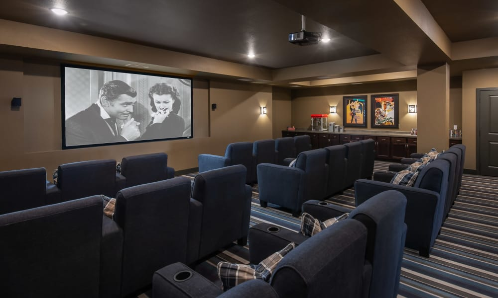 Movie theater at Affinity at Lacey in Lacey, Washington