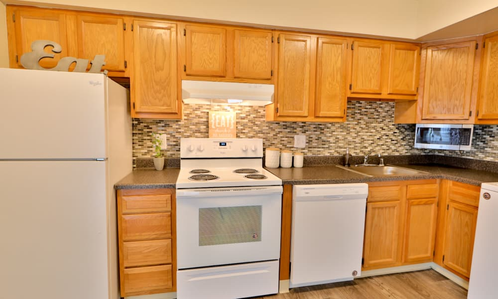 Kitchen at The Townhomes at Diamond Ridge in Baltimore, MD