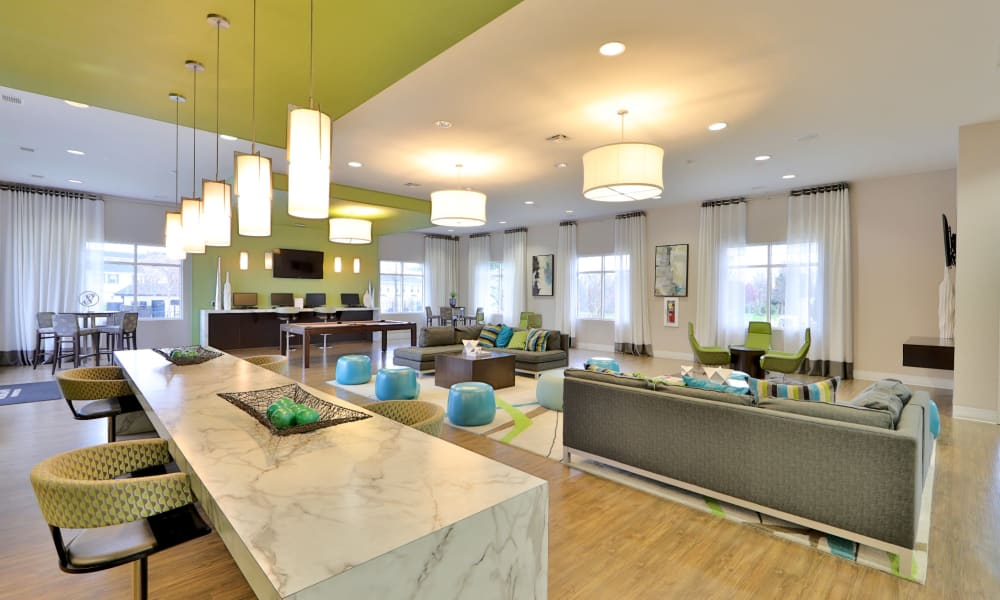 The Townhomes at Diamond Ridge offers a Clubhouse in Baltimore, Maryland