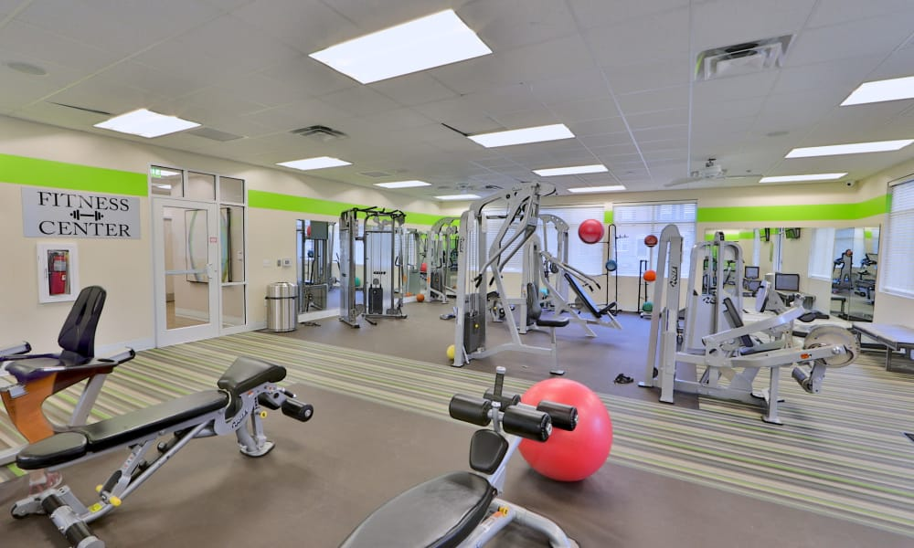 Fitness Center at The Townhomes at Diamond Ridge in Baltimore, Maryland