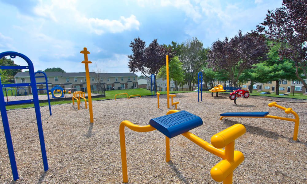 Playground at The Townhomes at Diamond Ridge in Baltimore, Maryland