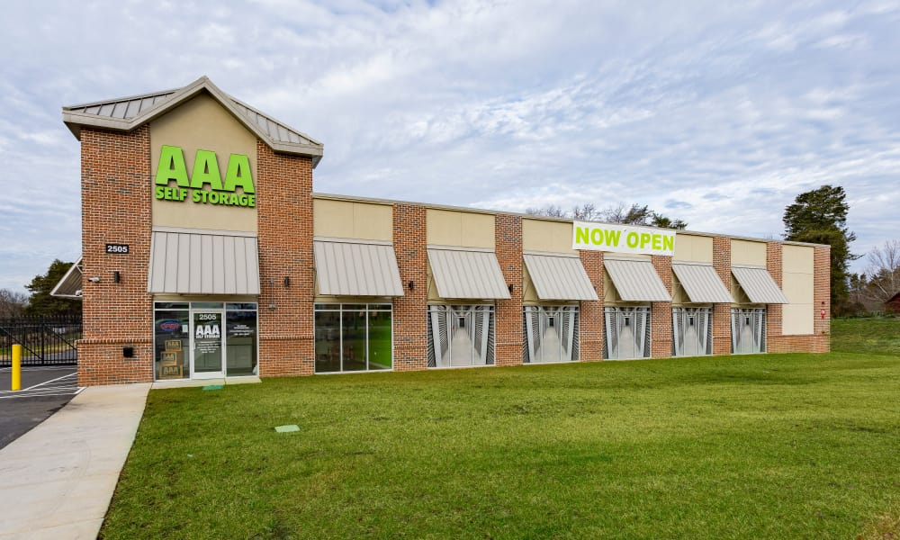 Self storage available at AAA Self Storage at Eastchester Dr in High Point, NC