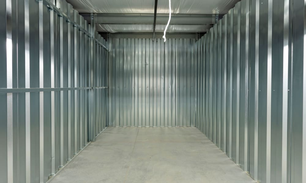 View inside of a unit at AAA Self Storage at Eastchester Dr in High Point, NC