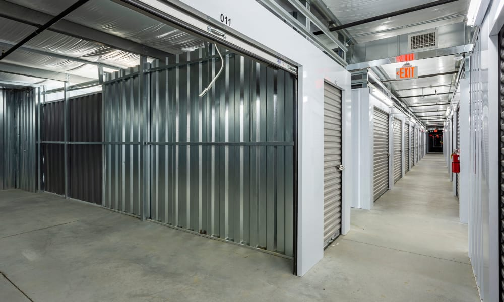 Interior units available at AAA Self Storage at Eastchester Dr in High Point, NC