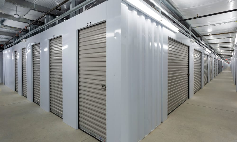 Interior units at AAA Self Storage at Eastchester Dr in High Point, NC
