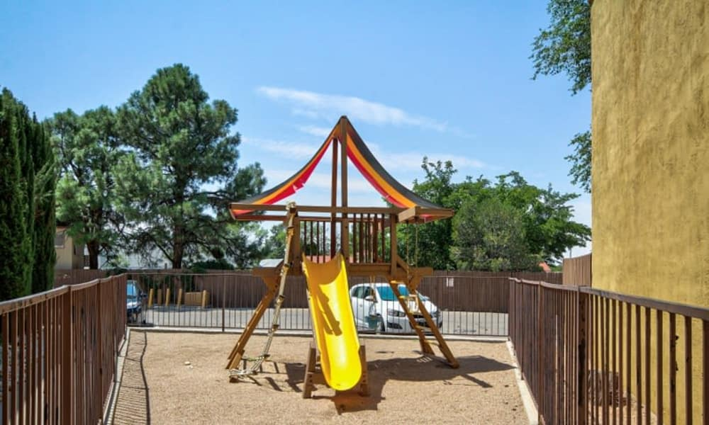 Playground at Casa Tierra in Albuquerque, New Mexico